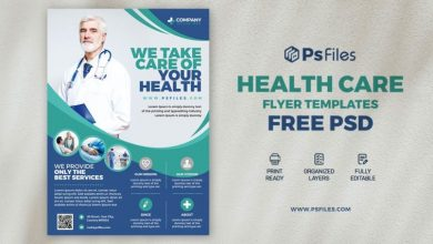 Photo of Hospital Health Care Free PSD Flyer Template