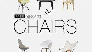 Photo of Modern Chairs PSD Design Resources for Architecture