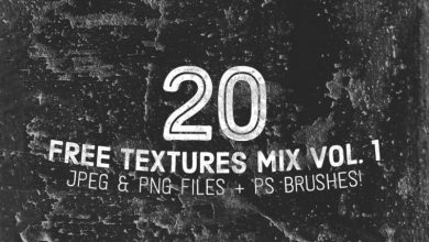 Photo of 20 Free Textures & Ps Brushes