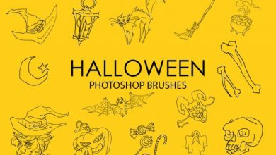 Photo of Halloween Photoshop Brushes