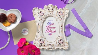 Photo of Gorgeous Picture Frame Mockup Scene