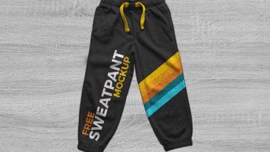 Photo of Free Track Pant, Sweatpants Trouser Mockup PSD