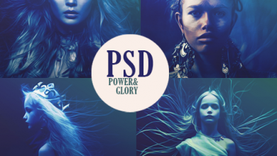 Photo of Power and Glory Look PSD File