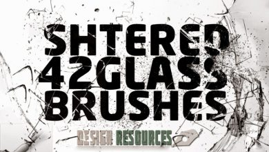 Photo of 42 Shattered Glass Brushes