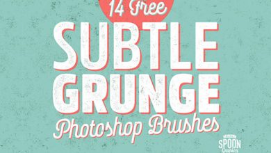 Photo of 14 Subtle Grunge Texture Ps Brushes