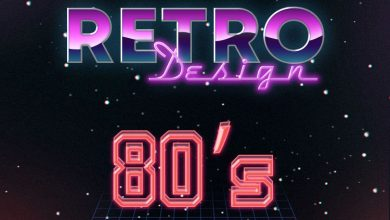Photo of Free 80s Style Text Effect PSD