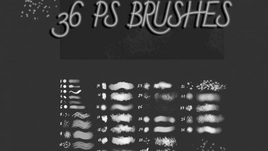 Photo of 36 Free Texture Brushes
