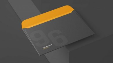 Photo of 6×9 Inch Envelope Cover Mockup