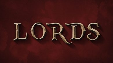 Free Lords Movie PSD Text Effect