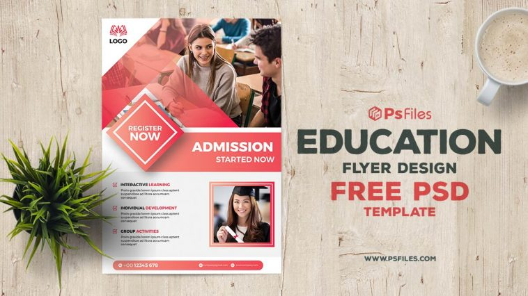 Free Education Flyer Template PSD